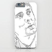 Matthew Bellamy WordsPortrait iPhone 6 Slim Case