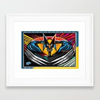 Blades Framed Art Print