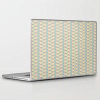 pixel Laptop & iPad Skins featuring Pixel  by AKN Art Design