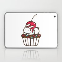 Chubby Bunny on a cupcake Laptop & iPad Skin