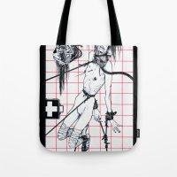 Nursing Composition Tote Bag