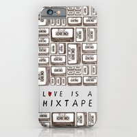 Love Is A Mixtape iPhone 6 Slim Case