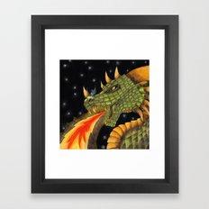 Typhon Framed Art Print