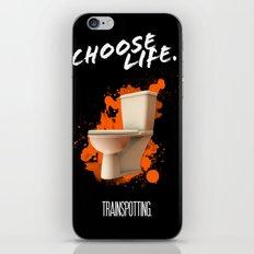 Trainspotting iPhone & iPod Skin