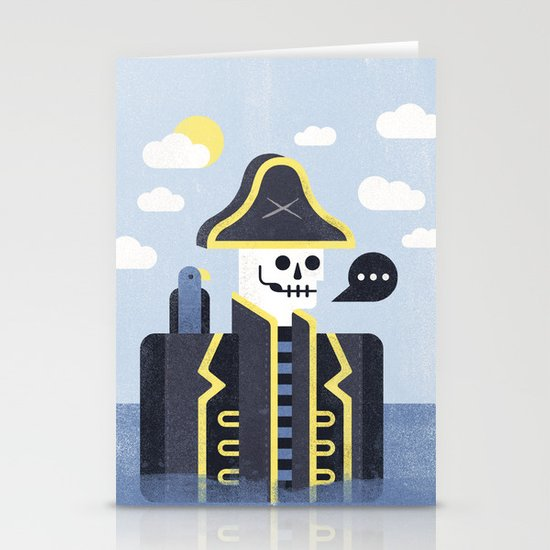 Dead Men Tell No Tales Stationery Card