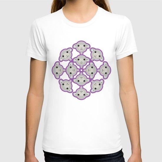 Sheep Circle - 4 T-shirt