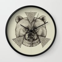 'Natural Symmetry' Wall Clock