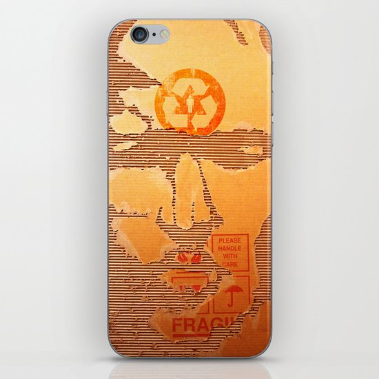 Handle with Care iPhone & iPod Skin