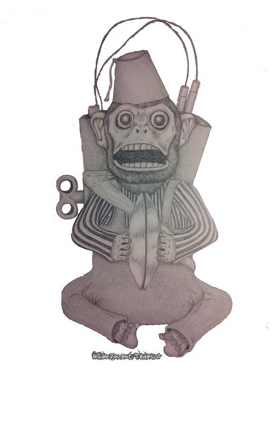 Monkey Bomb  Art Print