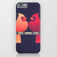 Northern Cardinals on a Japanese Maple iPhone 6s Slim Case