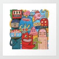 Mêmsac  Art Print