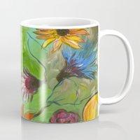 Flower Swirls Mug