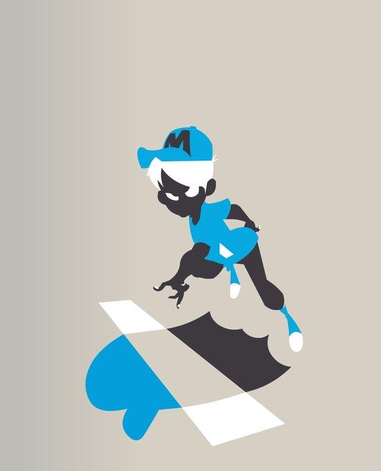 Boy Jump Art Print