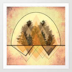 try tree-angles Art Print