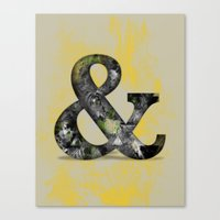 Ampersand Series - Baskerville Typeface Canvas Print