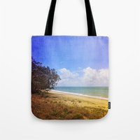 Beautiful Day by the Sea Tote Bag