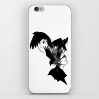 Freedom for my crows... iPhone & iPod Skin