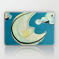 Moon Laptop & iPad Skin