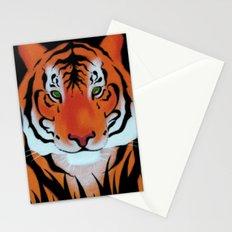 Green Eyes, Tiger Stationery Cards