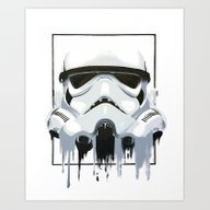 Art Print featuring General Stormscout 3 by SMAFO