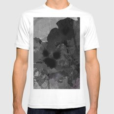 In Bloom White Mens Fitted Tee SMALL