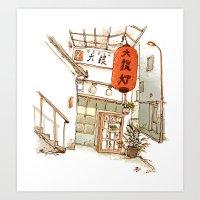 Tokyo Izakaya Art Print