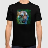 The Tiger, King Of The J… Mens Fitted Tee Black SMALL