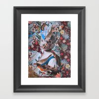 La Fanciulla Di Rotari Framed Art Print