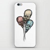 3 Wise Balloons iPhone & iPod Skin