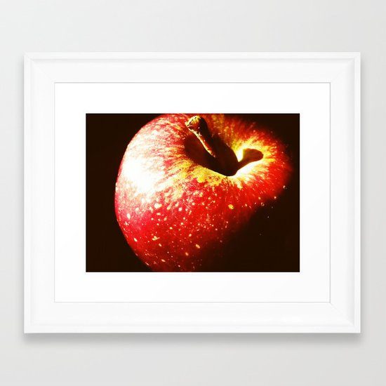 Apple Framed Art Print