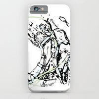 iPhone & iPod Case featuring head and neck by VALENTINA MAGRO