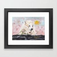 Polar Bear (day excursion) Framed Art Print