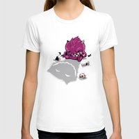 Little Guy Womens Fitted Tee White SMALL