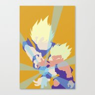 Dragonball Z - Father-So… Canvas Print