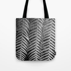 Plant leaf BW Tote Bag