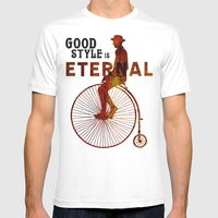 Good Style Is Eternal Mens Fitted Tee White SMALL