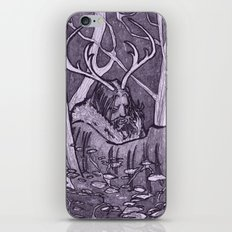 Cernunnos iPhone & iPod Skin