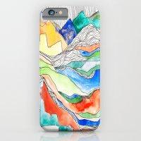 Technicolor Mountains iPhone 6 Slim Case