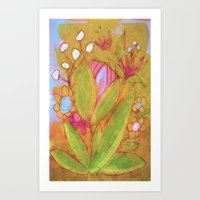Bloomer Art Print
