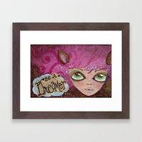 Deerest Dharma Framed Art Print
