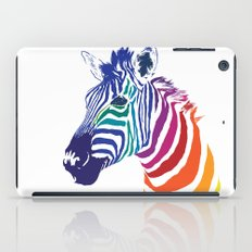 Rainbow Zebra iPad Case