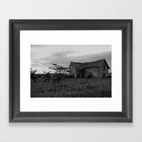 Unsteady 1 Framed Art Print