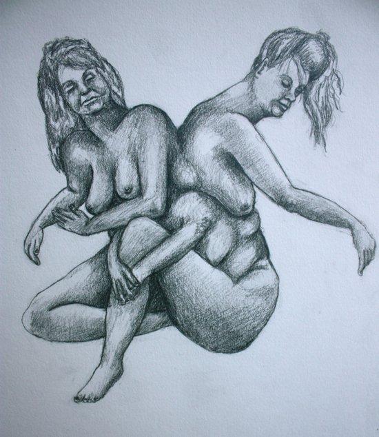 Sisters II Art Print