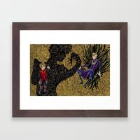 Tryion+joffrey: The Pupp… Framed Art Print