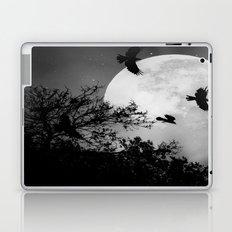 Haunting Moon & Trees Laptop & iPad Skin