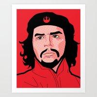 Pop Icon - Rebel Art Print