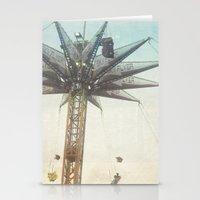 sky flyer Stationery Cards