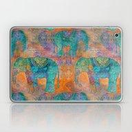Elephant Pattern Laptop & iPad Skin