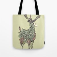 Beautiful Deer Old Tote Bag