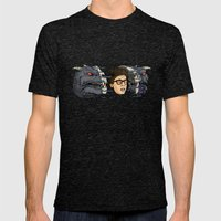 Terror Dog Mens Fitted Tee Tri-Black SMALL